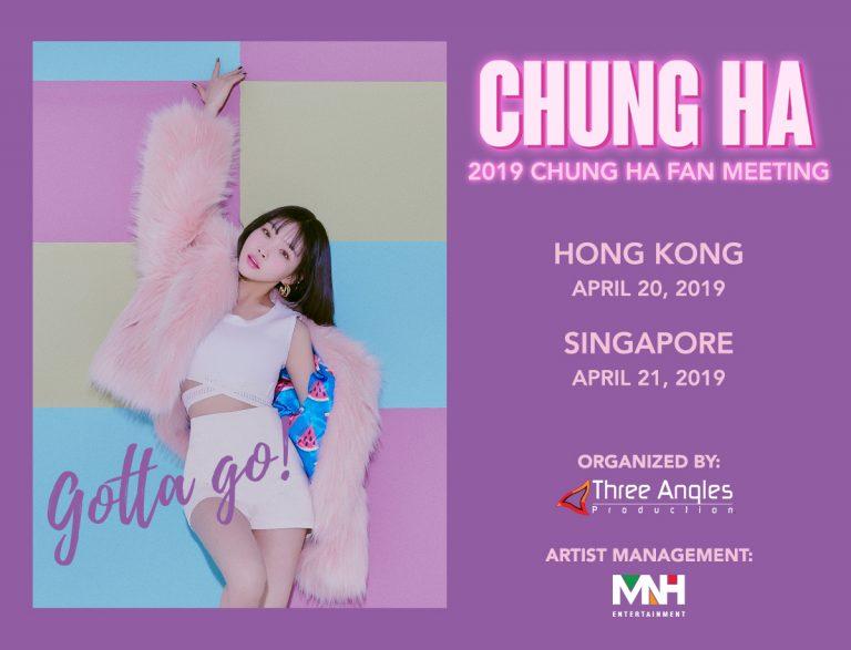 Chung Ha Fan meeting